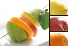 Mistura das frutas Foto de Stock Royalty Free