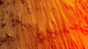 A mistura de cor alaranjada vermelha do tijolo protegeu ilustração textured do vetor do papel de parede do fundo do cimento abstr ilustração do vetor