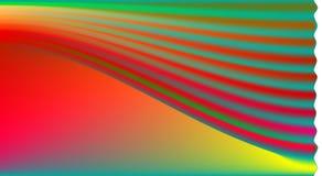 Mistura de cores diferentes no fundo do inclinação imagem de stock