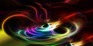 Mistura de cores lisas Foto de Stock