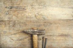 Mistura de ferramentas do trabalho Imagens de Stock