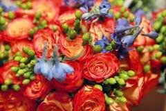 Mistura de flores Imagens de Stock