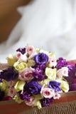 Mistura de flores do casamento Imagem de Stock