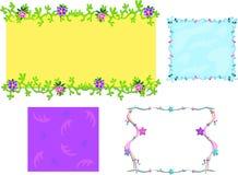Mistura de frames coloridos diferentes Imagem de Stock Royalty Free