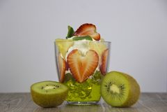Mistura de fruto fresco e de bagas imagem de stock