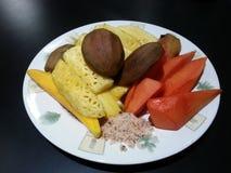 Mistura de frutos tailandeses Foto de Stock Royalty Free