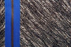 A mistura de lã cinzenta gosta da textura, do teste padrão cinzento de lãs, do sal textured e do pe Imagens de Stock