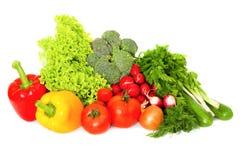 Mistura de legumes frescos Fotografia de Stock