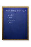 Mistura de mercado 4P Imagens de Stock