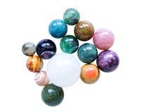 Mistura de pedra da bola Fotos de Stock