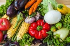 Mistura de vegetais saudáveis Foto de Stock