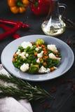 Mistura deliciosa, deliciosa de vegetais na placa Foto de Stock