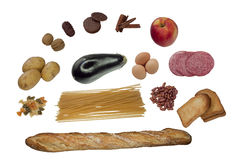 Mistura do alimento Fotos de Stock Royalty Free