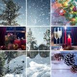 Mistura do ano novo Imagem de Stock Royalty Free