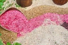 Mistura do backgound das sementes fotos de stock royalty free