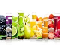 Mistura do chá do fruto Imagens de Stock Royalty Free