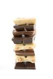 Mistura do chocolate Imagem de Stock