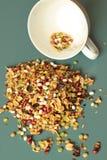 Mistura do feijão e das ervilhas Fotografia de Stock Royalty Free