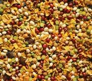 Mistura do feijão e das ervilhas Imagem de Stock