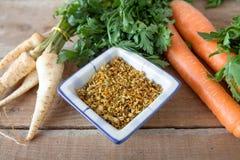 Mistura do legume fresco - mistura da especiaria fotografia de stock