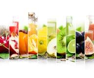 Mistura do suco de fruta Imagem de Stock