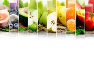 Mistura do suco de fruta Imagens de Stock