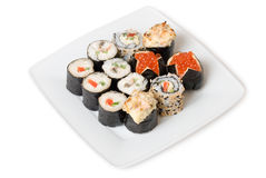 Mistura do sushi Fotografia de Stock Royalty Free