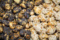 Mistura dos amendoins Fotos de Stock Royalty Free