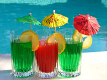 Mistura dos cocktail Foto de Stock Royalty Free
