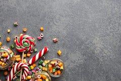 Mistura dos pirulitos e dos doces Imagem de Stock Royalty Free