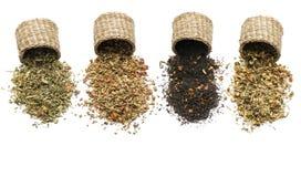 Mistura erval para o chá Imagens de Stock