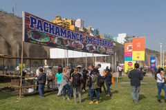 Mistura Food Festival 2015 in Lima, Peru stock photos
