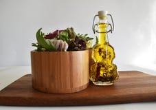 Mistura fresca da salada verde Imagens de Stock Royalty Free