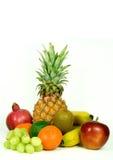 Mistura isolada da fruta imagem de stock royalty free