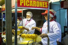 Mistura-Lebensmittel-Festival in Lima stockfoto
