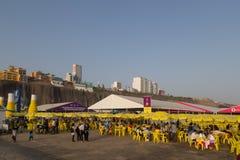 Mistura-Lebensmittel-Festival 2015 in Lima, Peru stockbilder