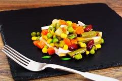 Mistura mexicana de vegetais Tomates, feijões, raiz de aipo, B verde Imagens de Stock