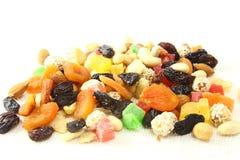 Mistura Nuts e secada das frutas Fotografia de Stock Royalty Free