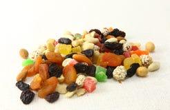 Mistura Nuts e secada das frutas Imagem de Stock