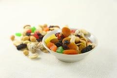 Mistura Nuts e secada das frutas Foto de Stock Royalty Free