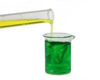 Mistura química Fotografia de Stock Royalty Free