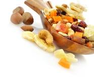 Mistura seca das frutas Imagem de Stock