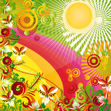 Mistura tropical Imagem de Stock