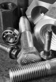 Mistura variada de dispositivos mecânicos Fotografia de Stock Royalty Free