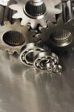 Mistura variada mecânica de ferramentas Imagem de Stock Royalty Free