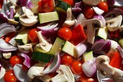 Mistura vegetal mediterrânea Imagem de Stock