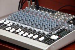 Misturador audio Fotos de Stock Royalty Free