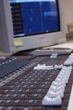 Misturador audio Fotos de Stock