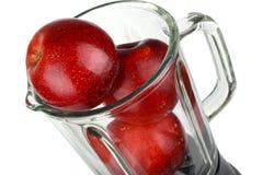 Misturador com maçã Fotografia de Stock