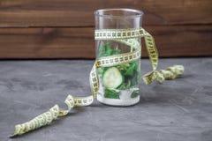 Misturador completamente dos vegetais e o iogurte e o medidor conceito 90 60 90 Imagens de Stock Royalty Free